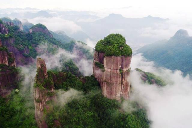 """浙江巨资打造的""""户外公园"""",景色不输黄山,距温州很近"""