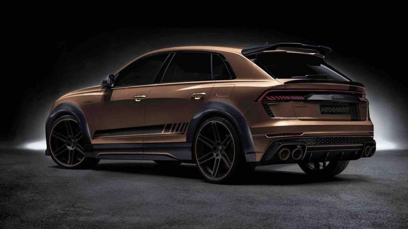 与兰博基尼urus比肩限量版Audi RS Q8