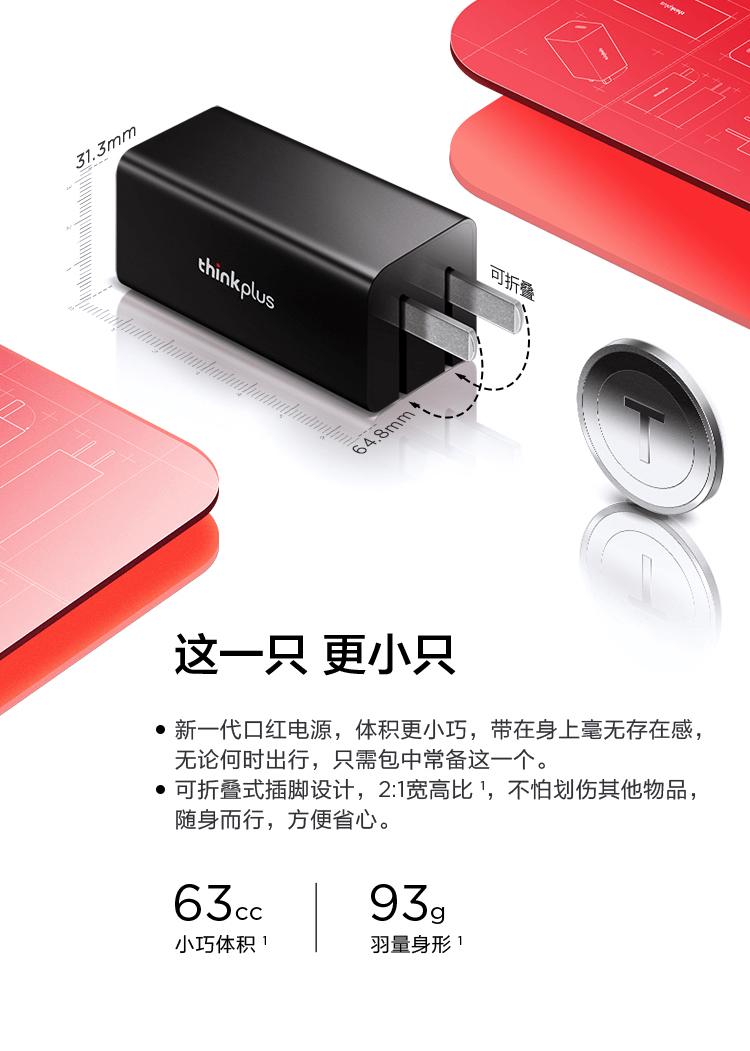 作为新款ThinkPad轻薄旗舰CP的thinkplus口红电源到底有多神?