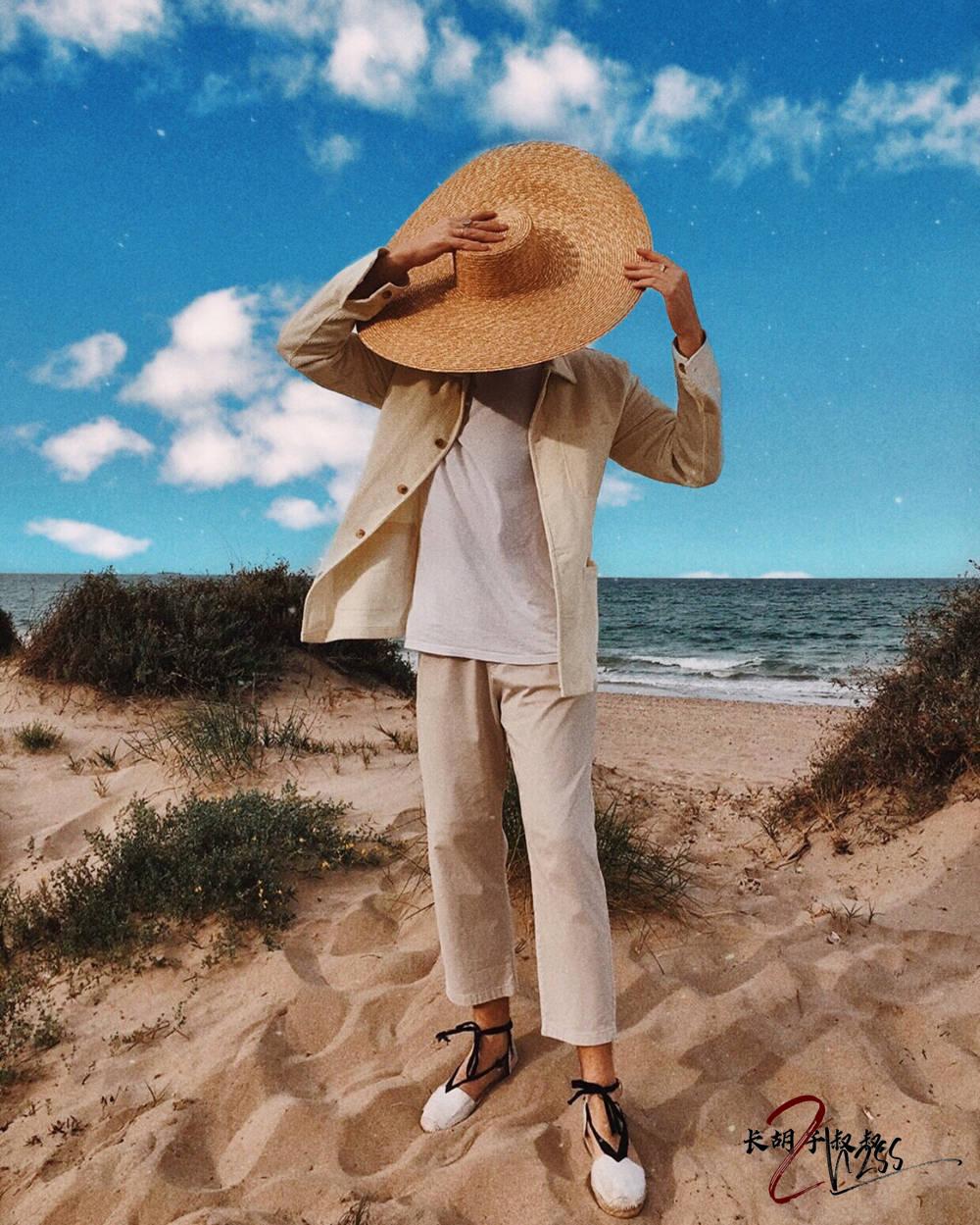 【男士时尚】丨夏季必备度假风草帽