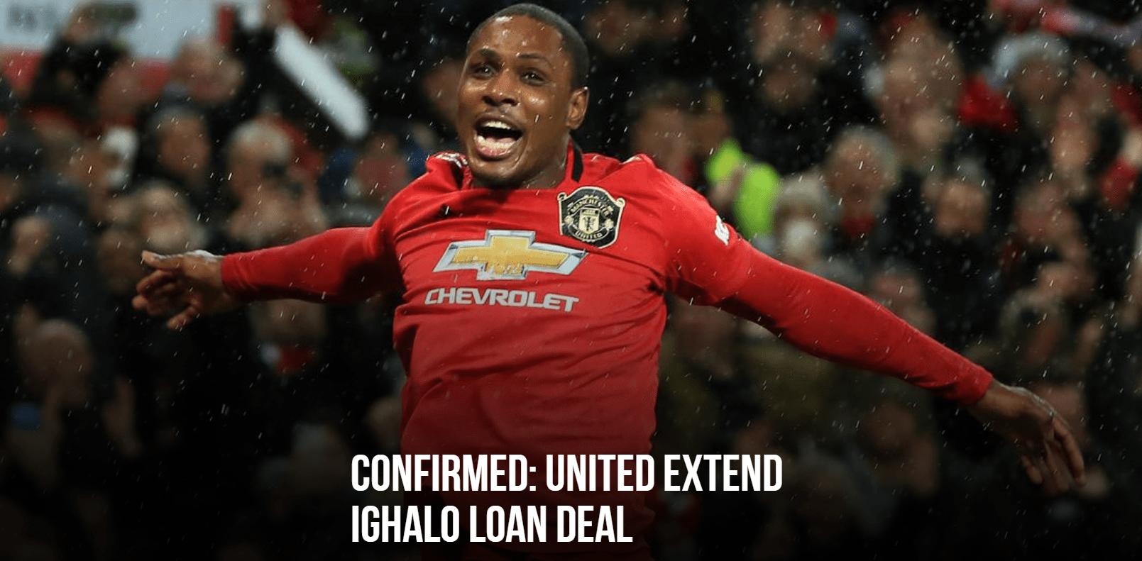 官方:曼联确认续租伊哈洛 新合同明年1月底到期
