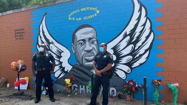 原创 黑人遇害的目击证人,逃回老家后被捕,他说弗洛伊德没有反抗警察