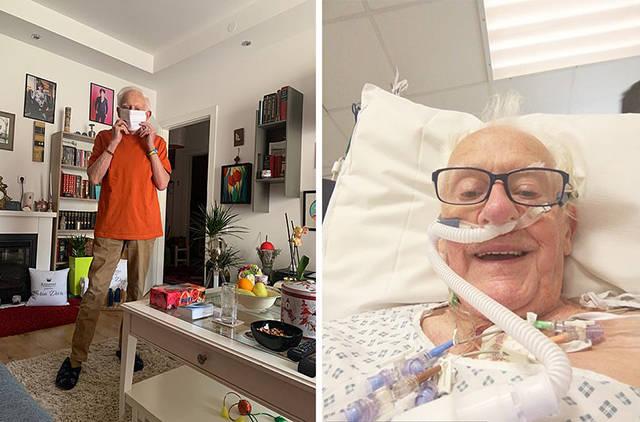"""原创 81岁英国牧师孤独去世,27岁""""老公""""哭了两天后:该享受遗产了"""