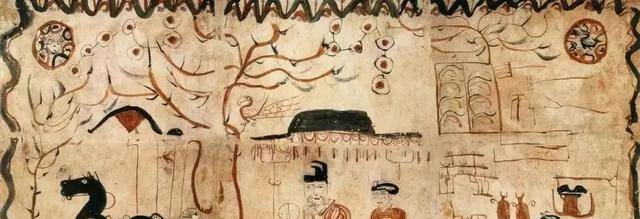 1600年的古墓出土了一幅画,专家:这是哪家小孩画了放进去的