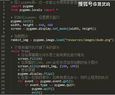 Python小游戏项目,兔子猎手教程,效果以及源码文件 第2张
