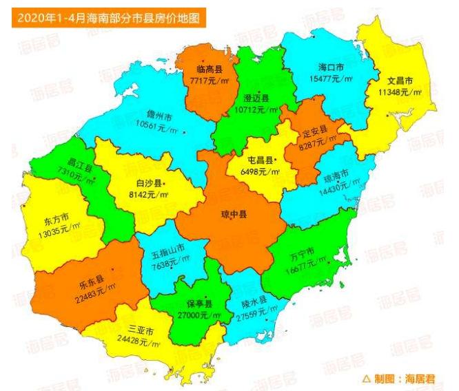 2020年海南各市县gdp_海南各市县地图
