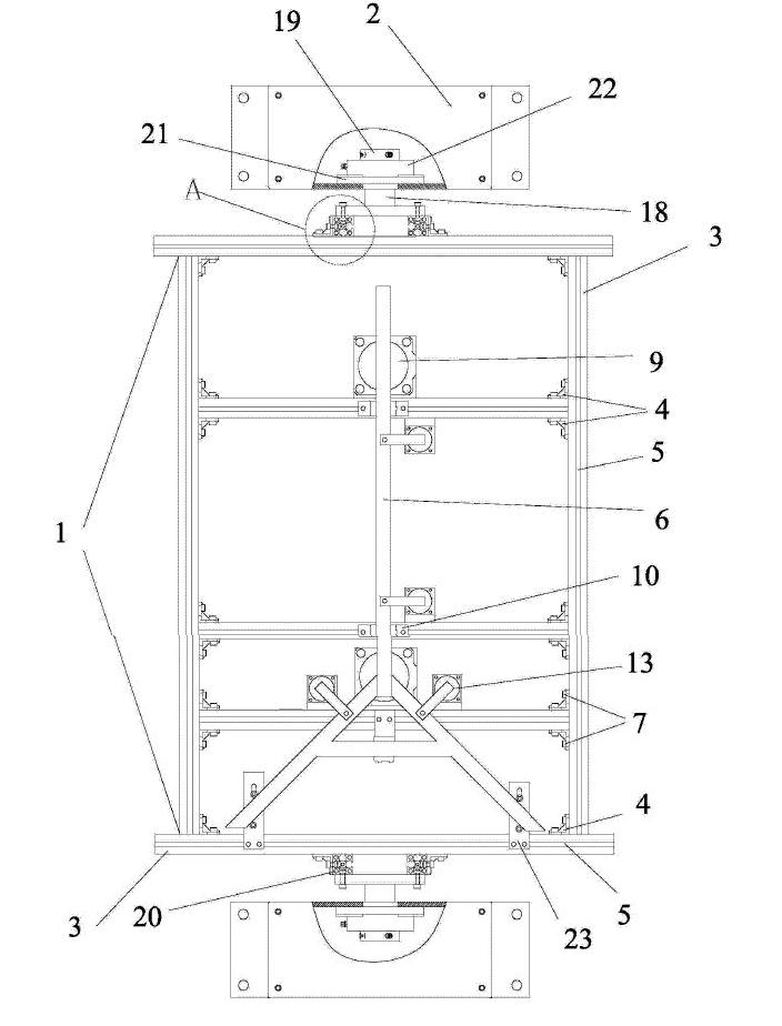 安全性能低(气动系统中气管外露),夹具翻转的平稳性低(工件分布不均匀图片