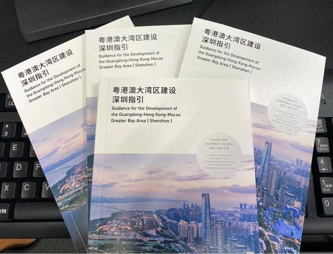 深圳发布《粤港澳大湾区建设深圳指引》
