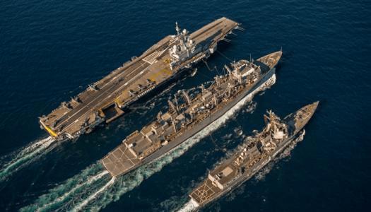 法国派军舰驶入中东,联合美军打压伊朗?中东态势风起云涌