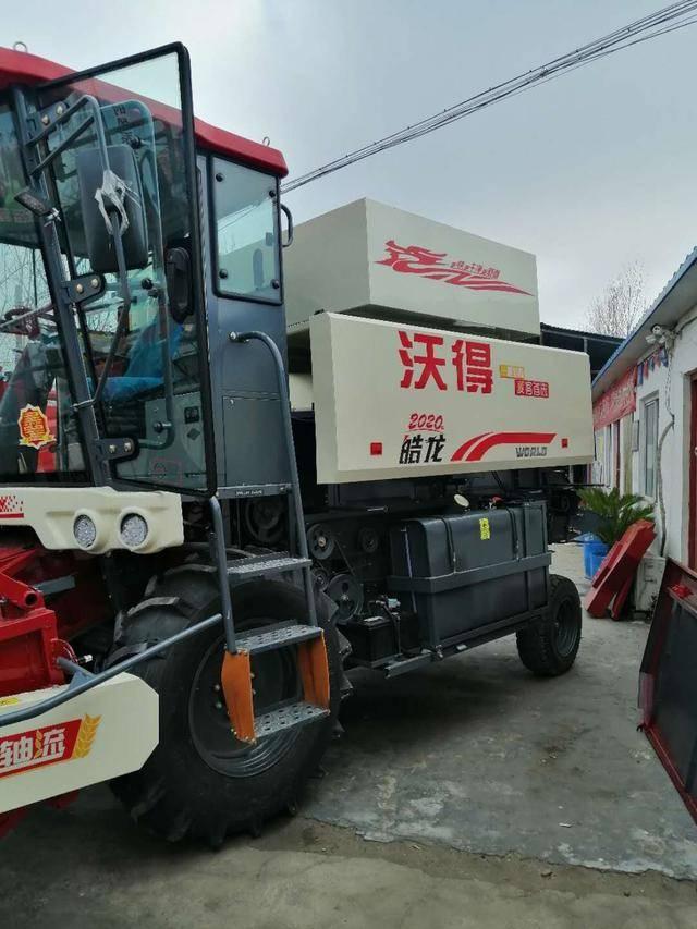 江蘇沃德小麥收割機在河南商丘遭投訴:質量問題多發無法正常工作