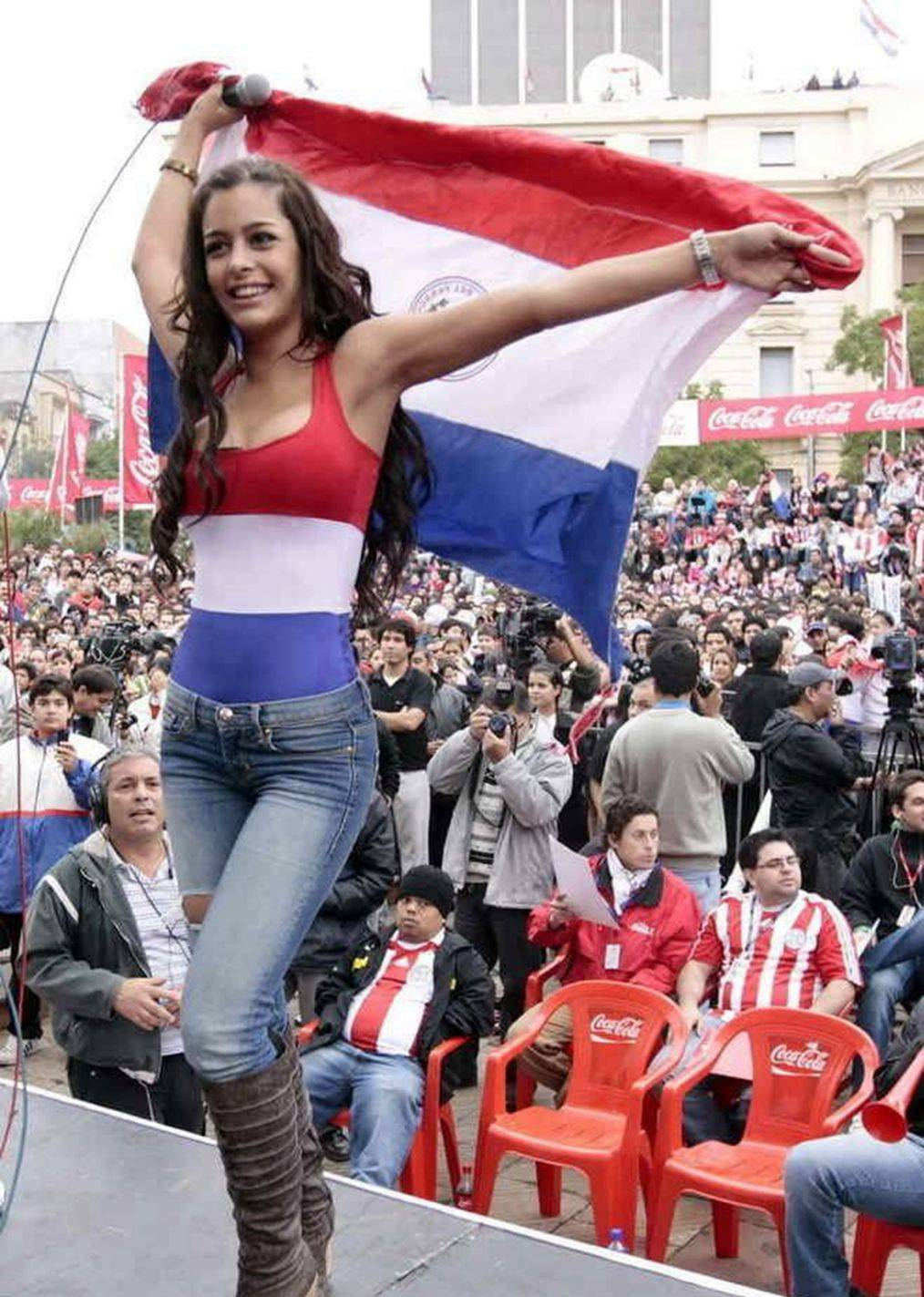 巴拉圭男女人口比例_巴拉圭女人图片