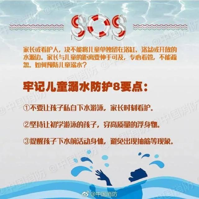 中国消防:儿童溺水正确救援方法请记牢!