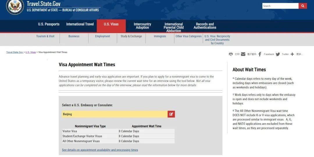 辟谣 | 美国签证预约时间到底还要等多久?