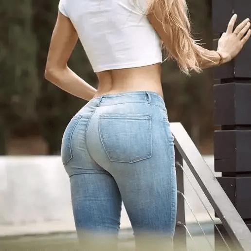 """好马配好鞍,穿""""蜜桃裤""""大玩性感的女生,身材好真不是开玩笑 减肥方法 第6张"""