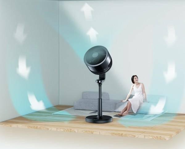夏天在家还一直傻吹空调?你需要一个空气循环扇!