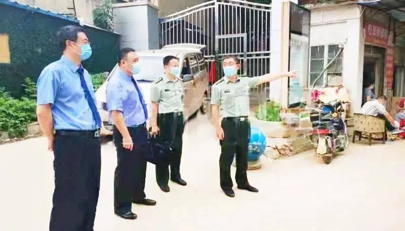 湖北:侵占军事设施用地的违章建筑被依法拆除了!