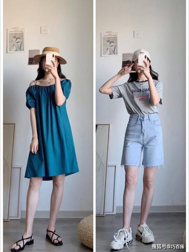 休闲又气质的搭配分享,不重样的时尚案例,夏日出挑就是这么简朴