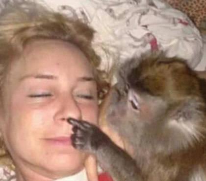 原创 女子养小猴子当宠物,有时看到它的行为懵了,这货另有做人的潜质