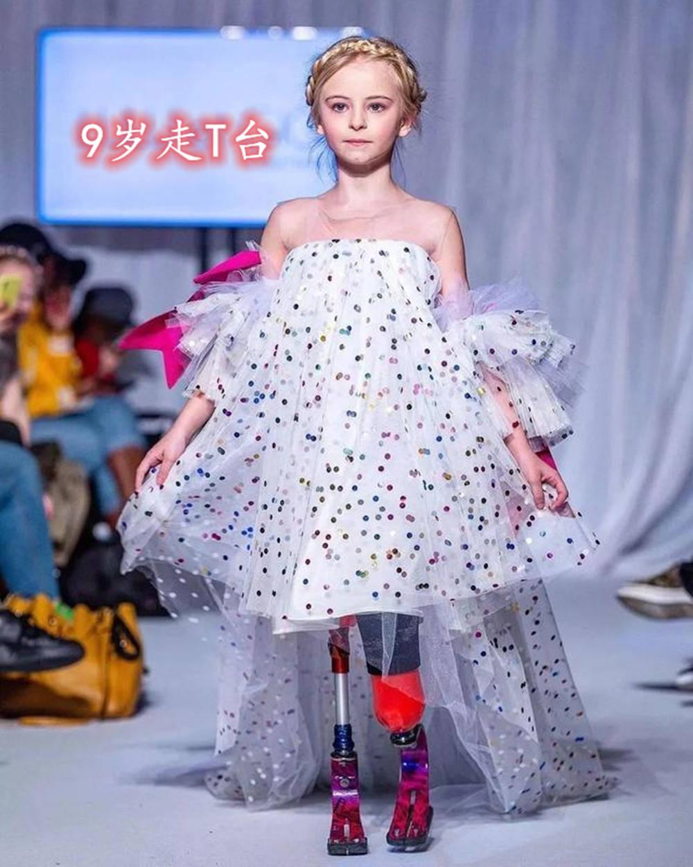 英国小女孩生来无腿,9年后却登上巴黎时装周,我命由我不由天_中欧新闻_首页 - 欧洲中文网