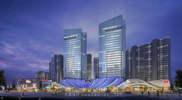 特色福州商业综合体设计为空间描绘丰盈色彩!
