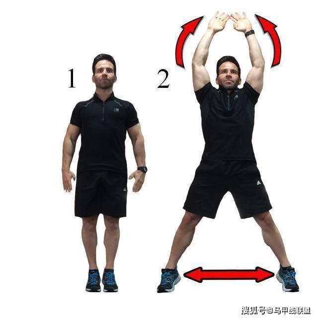 一个高效率燃脂动作,锻炼15分钟相当于慢跑30分钟,提高减肥效率