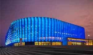 罗安达多功能运动馆照明亮化灯光分析