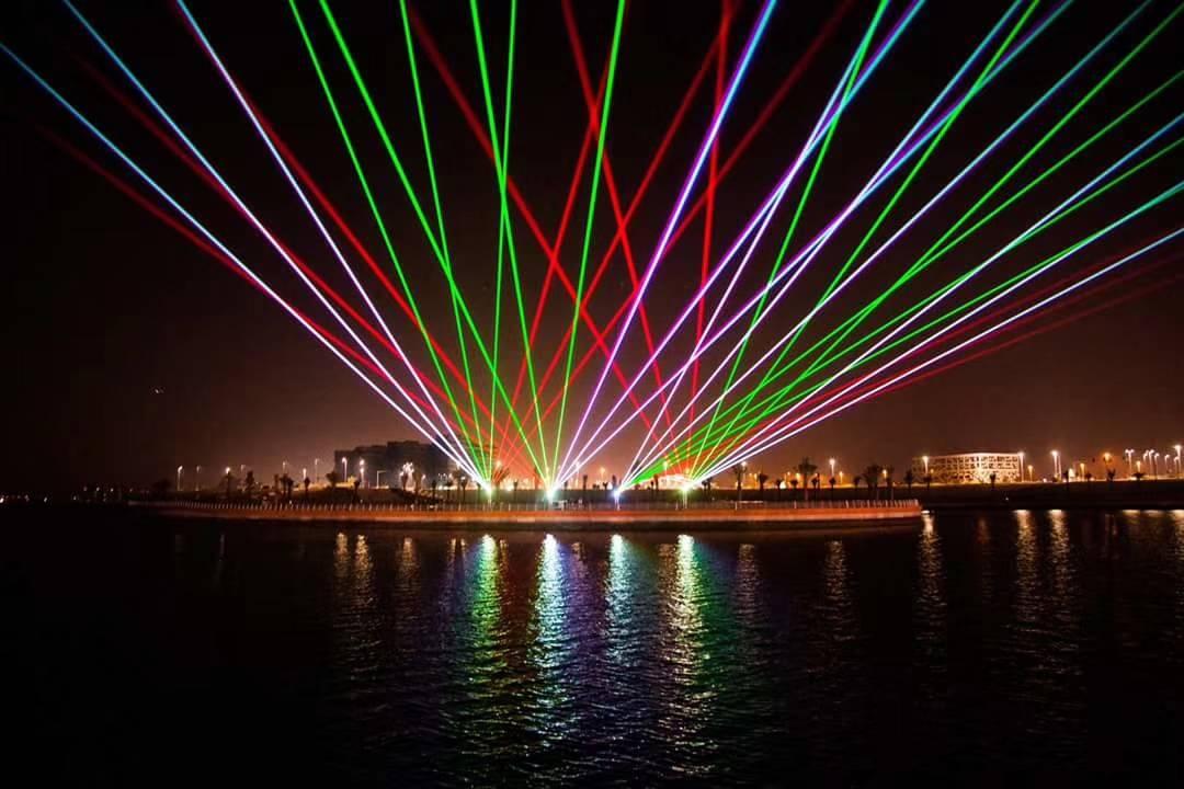 东城旅游节舞台灯光秀