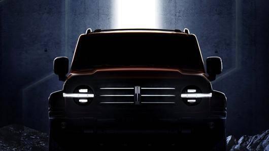 WEY越野SUV整车轮廓曝光 展现WEY品牌造型新趋势图3