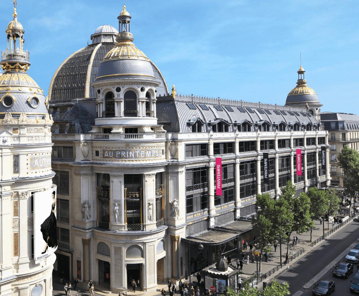 法国春天百货PRINTEMPS奥斯曼旗舰店安全重启