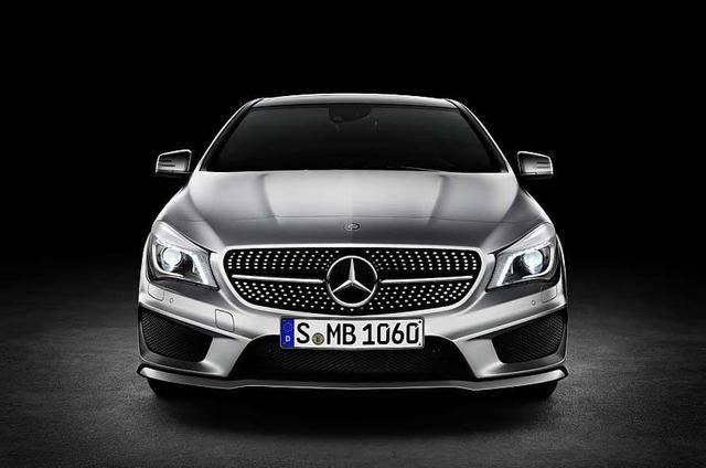 原产或销售23万,进口奔驰CLA级将在成都车展正式亮相