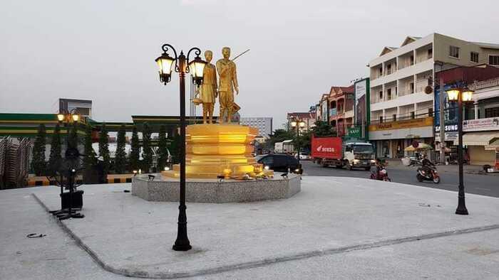 700名中国人长住柬埔寨茶胶省,除此之外还有17个国家人居住