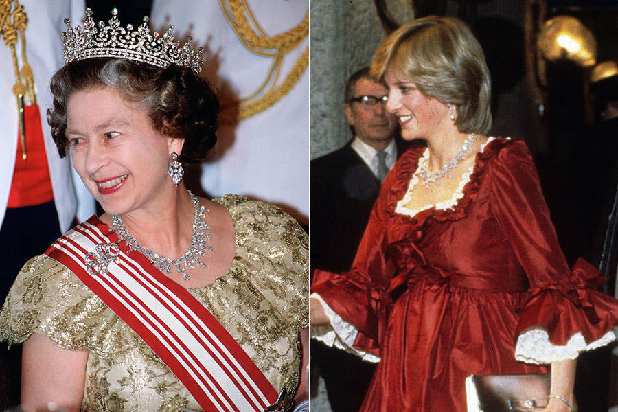 原创 英女王钻石百宝箱小揭秘;王室女眷经常借来充门面