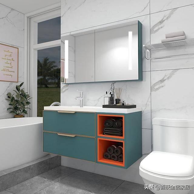 卫生间橱柜经常换吗?这种浴室橱柜经久耐用,美观大方! 浴室柜智能镜怎么换