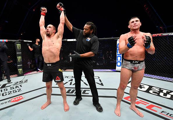 UFC on ESPN 14综述 罗伯特