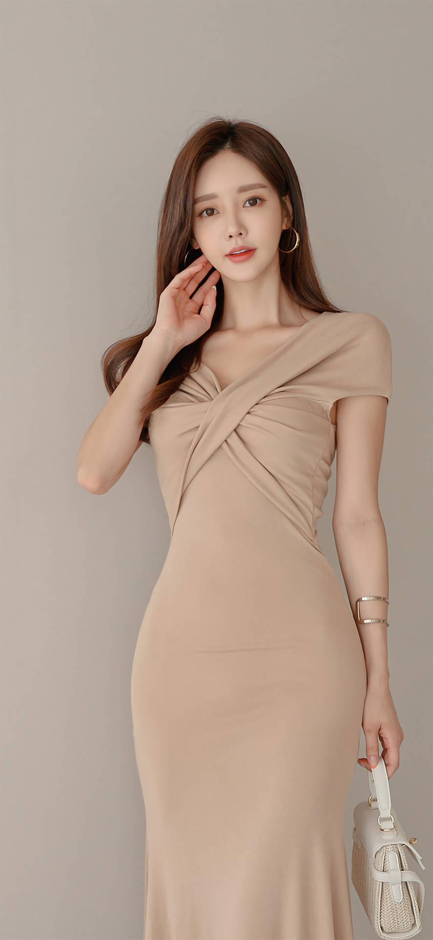 孙允珠女神气质的礼裙展示了优雅与内涵之美