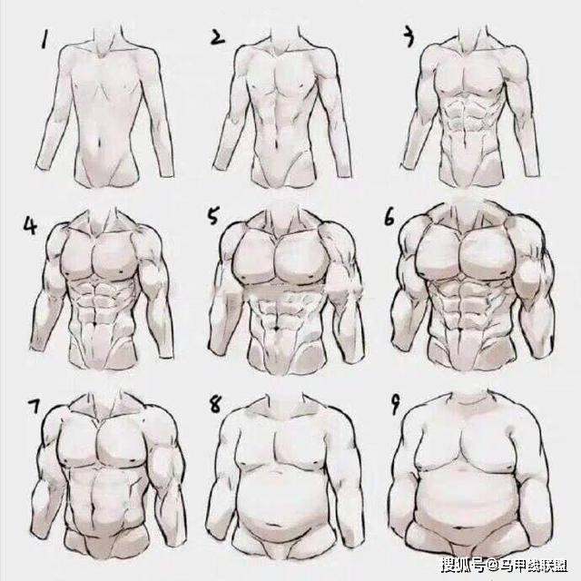 男人最常见的9种身材,看看自己属于哪一种?又想拥有哪一种?
