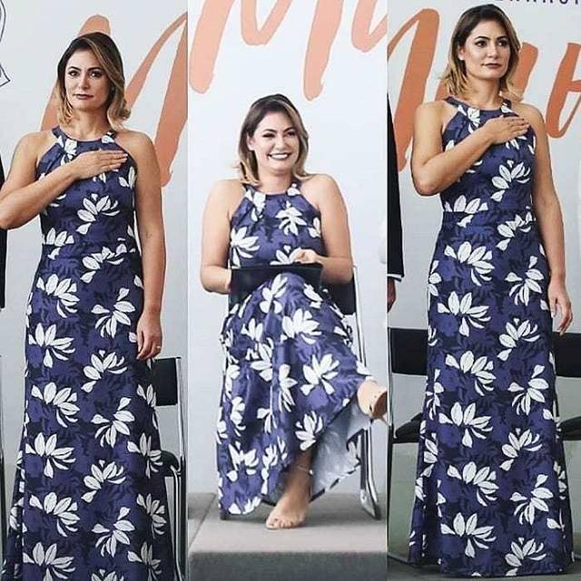 原创             巴西总统小27岁娇妻身材真不错!微胖却穿鱼尾裙,比紧身裙还好看