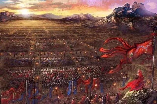 历史故事——大风再次帮助朱棣胜了夹河之战