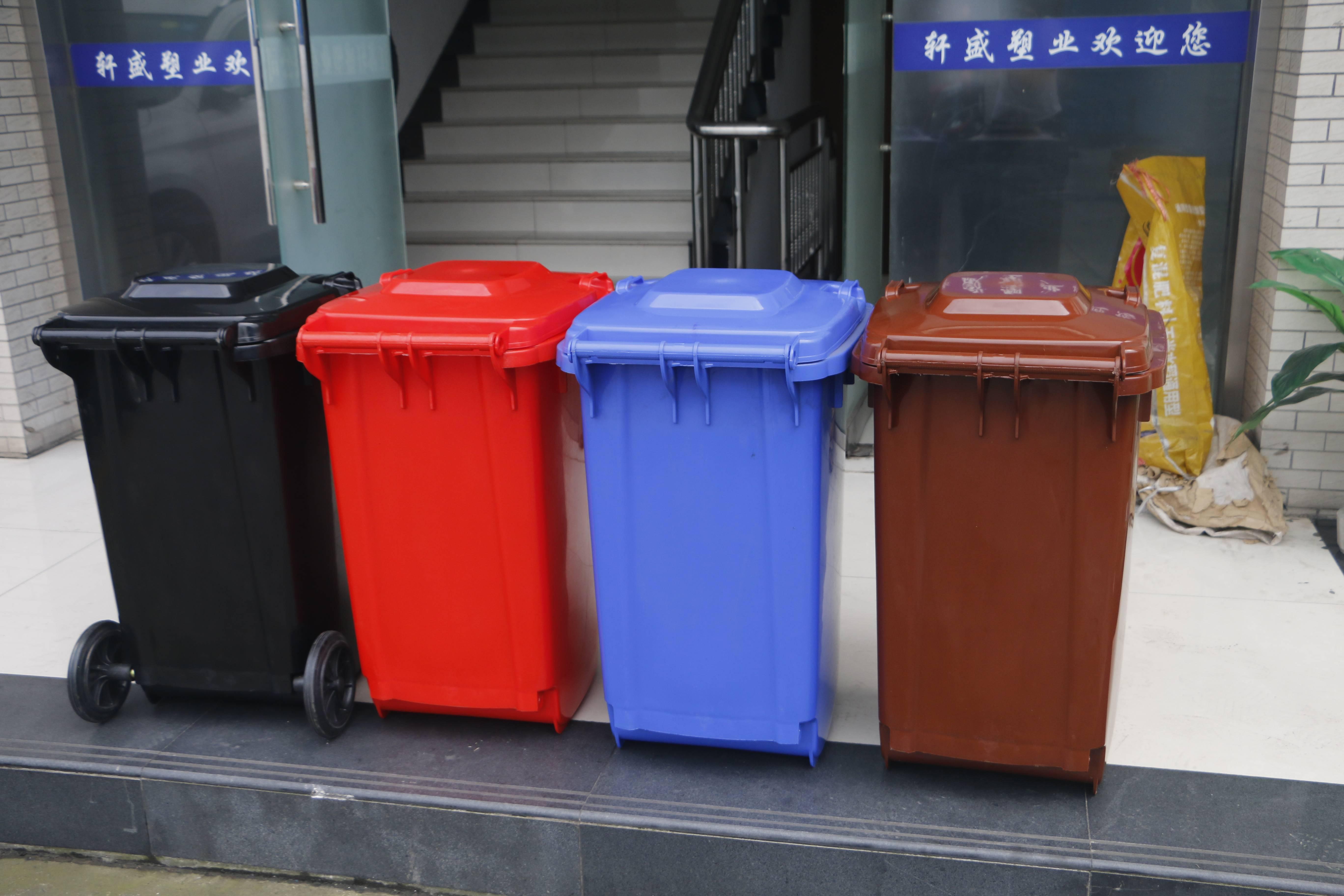 采购塑料垃圾桶需要注意什么?(图1)