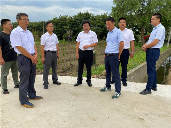 督查整改促提升 水清景绿环境美