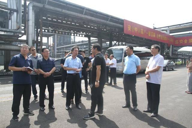吕梁市焦炉煤气氢能源转化利用调研组在交城县调研