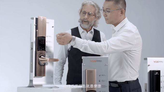 智能门锁安全稳定,是中国智能锁