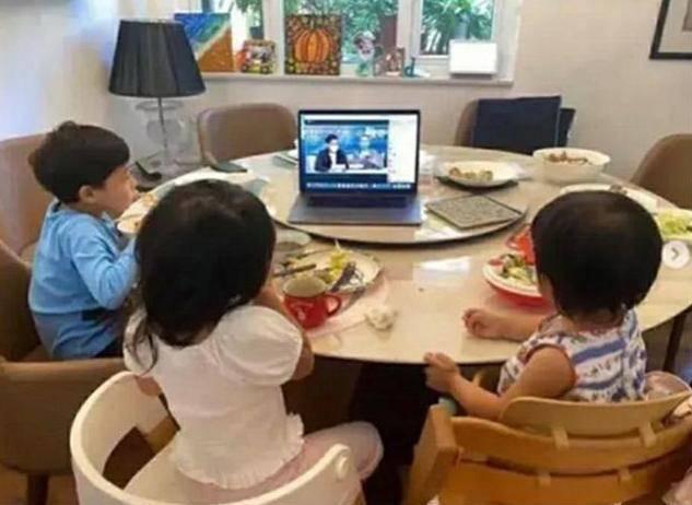 原创霍启刚晒3个孩子早餐:这才是真正的富养,平民的生活精英式教育