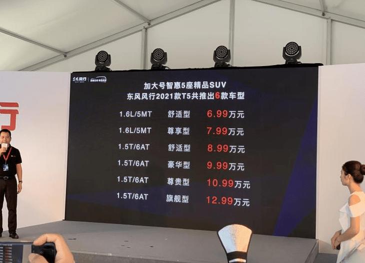 最初的哈弗M6也欢迎新的对手,与三菱发动机,配置升级,从69,900开始