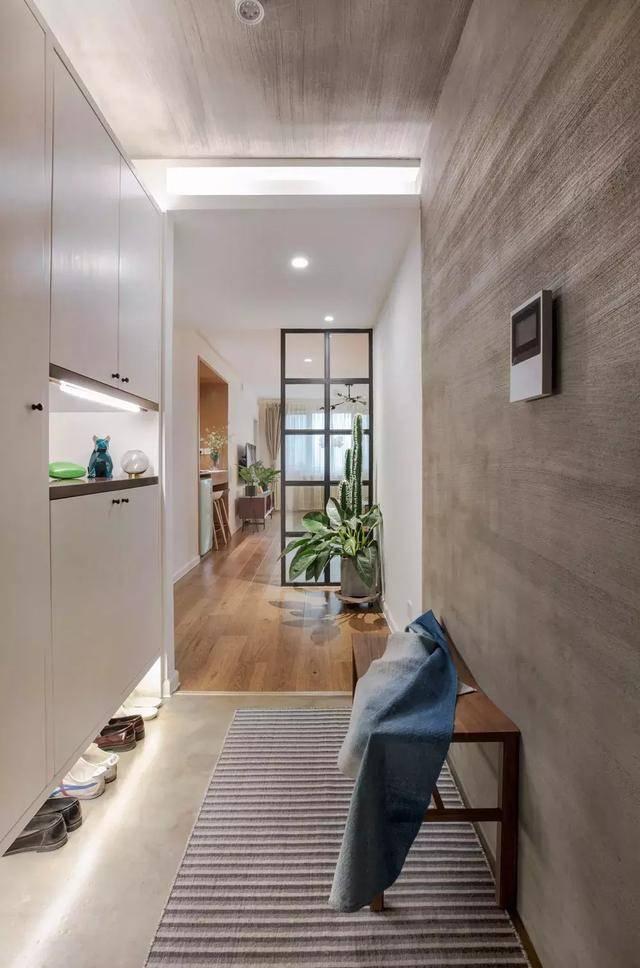 88平北欧风小户型二居室,好喜欢这个客厅小吧台和榻榻米!