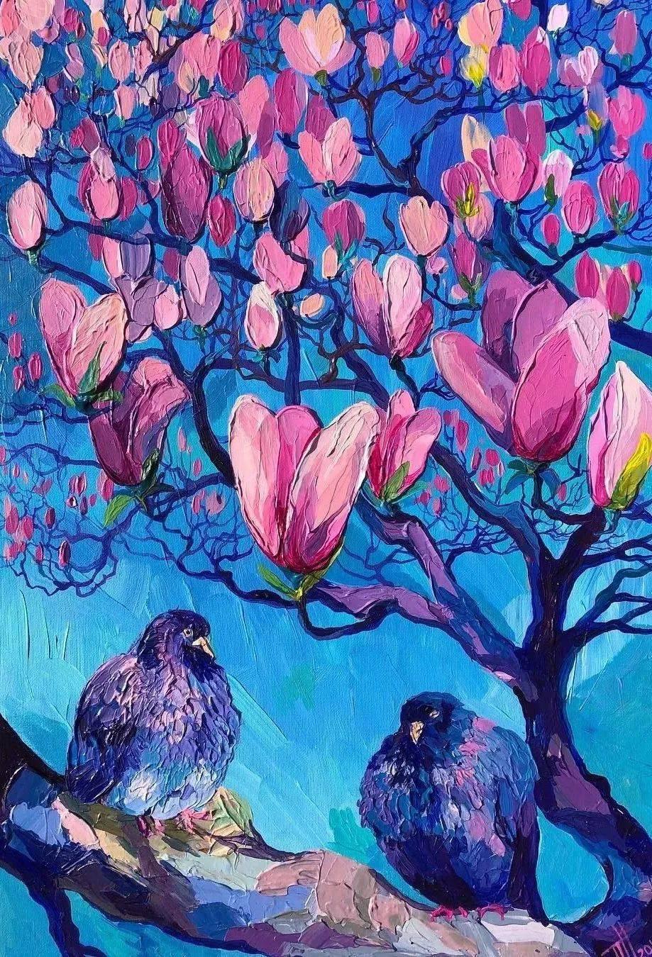 这些厚重的浪漫色彩,美到让人移不开眼!