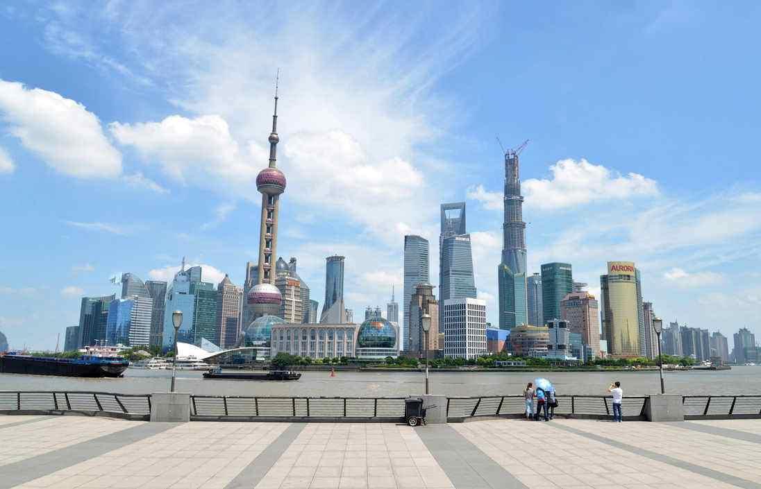 中国摩天大楼最多的城市,上海仅排第二,第一名有300多座高楼