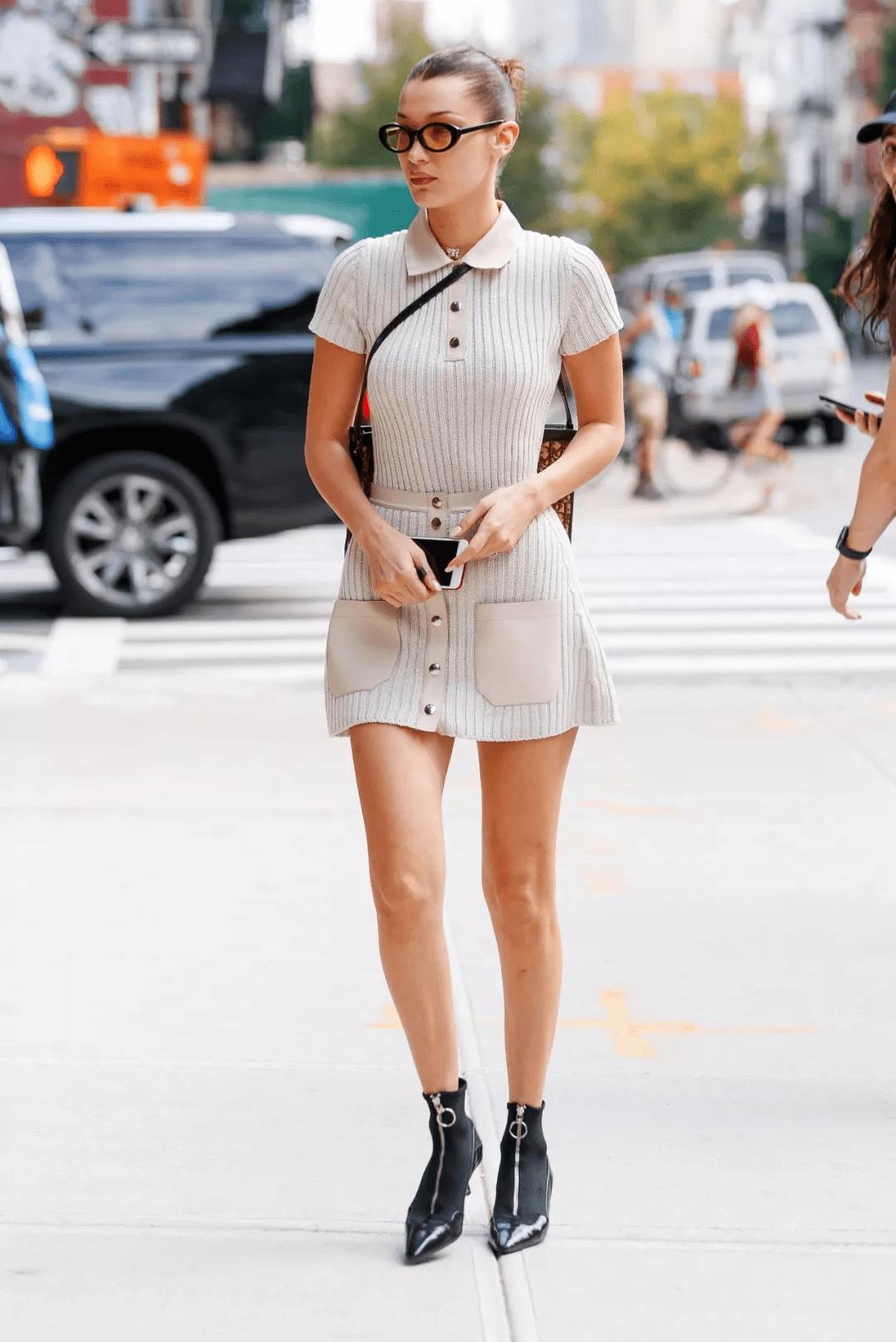 """原创为什么说吉娜是""""人间芭比""""?穿针织衫秀""""蚂蚁腰"""",身材太绝了"""