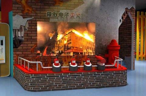 乐彩彩票:还有哪些形式的消防培训?消防安静体验厅模拟消防体验设备