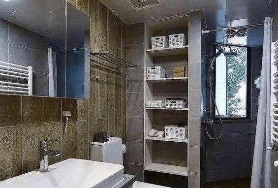 卫生间收纳空间这样设计,效果真不错